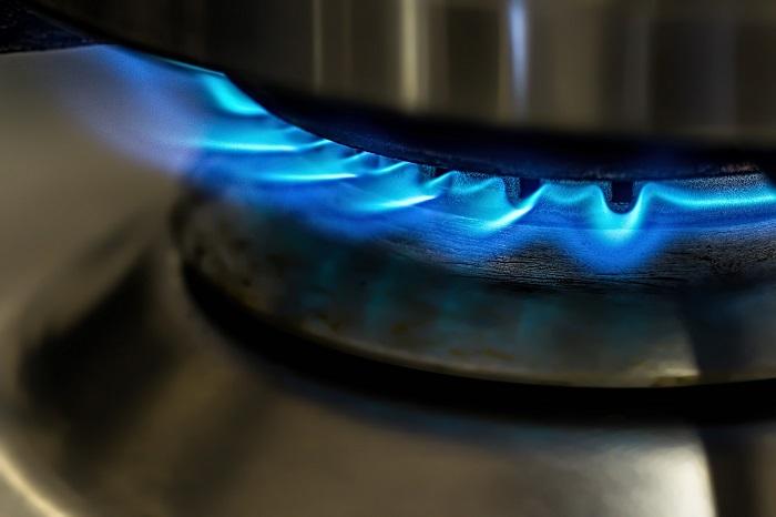 Plynový kotol na ohrev vody
